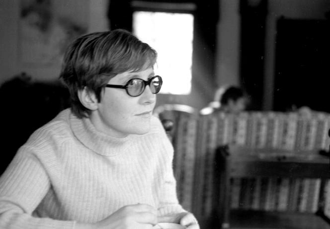 Paulette Perec au Moulin d'Andé (Eure) en 1969.