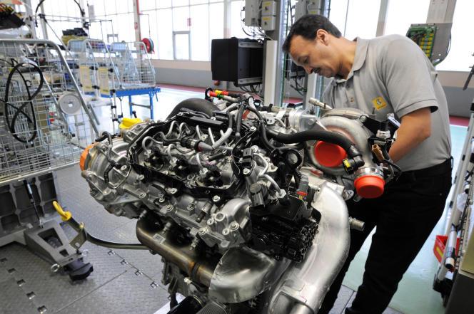 L'usine de Renault à Cléon (Seine-Maritime, ici en 2008) a produit 550000moteurs diesel en 2015.
