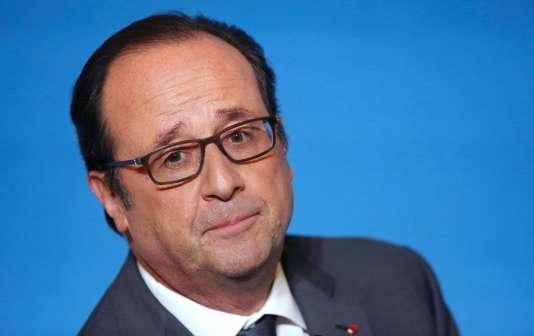 François Hollande, à Paris, le 7 novembre.