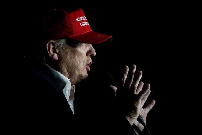 Le candidat républicain Donald Trump en campagne, le 6 novembre.