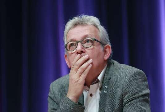 Pierre Laurent lors de la conférence nationale du PCF à Paris, le 5 novembre 2016.