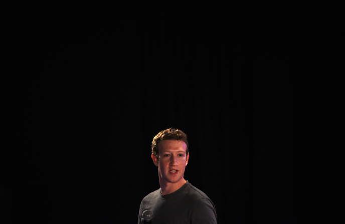 Le fondateur et PDG de Facebook, Mark Zuckerberg.