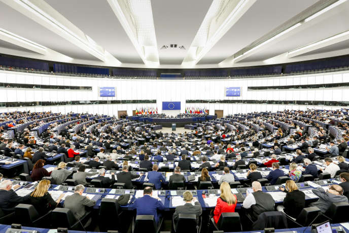 Plenary session of the European parliament, on October 26th.