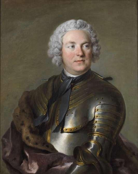 Louis Tocqué : Portait du comte Carl Gustaf Tessin.