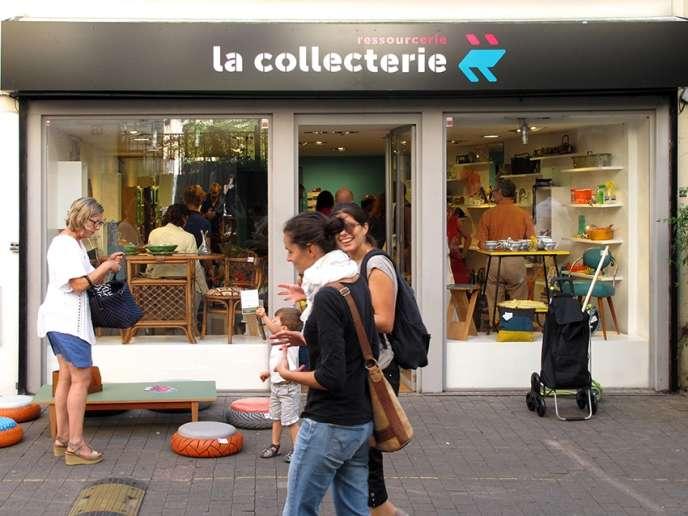 Le nouveau magasin de La Collecterie, à Montreuil.