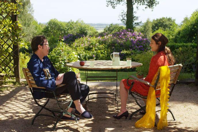 Reda Kateb et Sophie Semin dans le film français et portugais de Wim Wenders,«Les Beaux Jours d'Aranjuez».