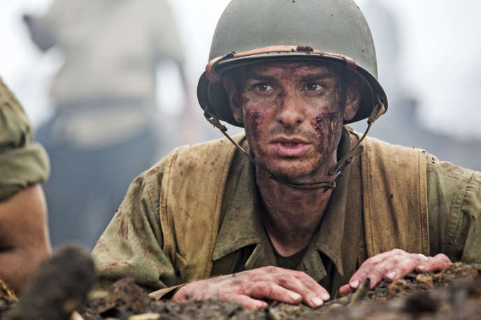 Andrew Garfield dans le film américain de Mel Gibson,«Tu ne tueras point» («Hacksaw Ridge»).