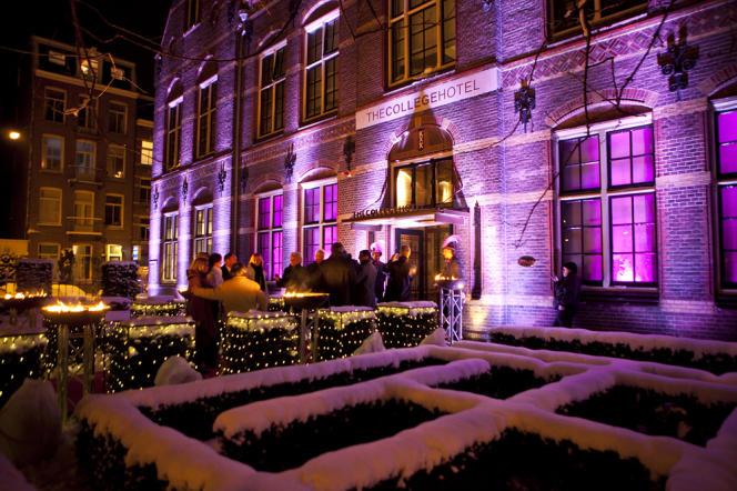 The College Hotel, au cœur d'Amsterdam, a des airs de manoir.