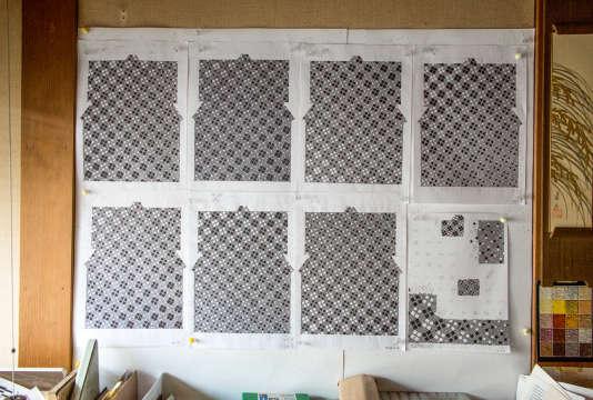 Kunihiko Moriguchi crée des motifs dont la géométrie obéit à un« ordre caché».