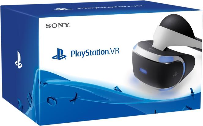 Le casque de réalité virtuelle PlayStation VR.