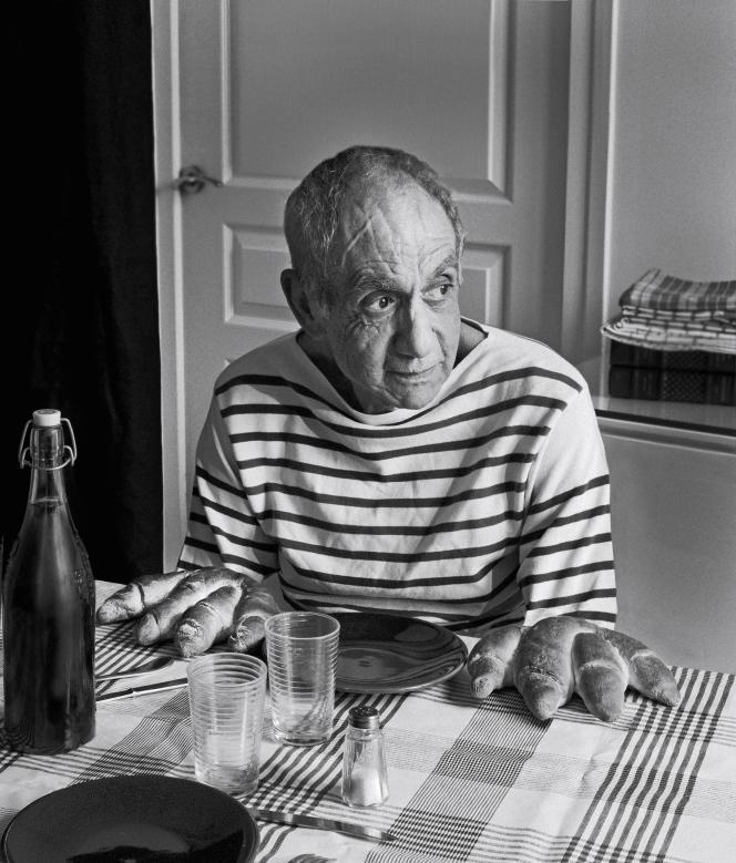 «Hommage à R. Doisneau, Les Pains de Picasso» (2013), de Catherine Balet.