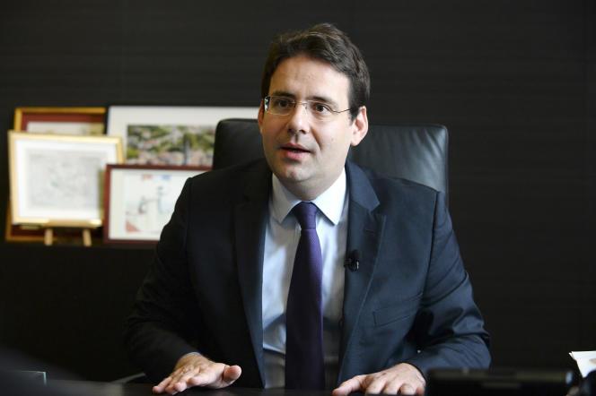 Le secrétaire d'Etat au commerce extérieur et au tourisme, Matthias Fekl, à Paris, le 5 juillet.