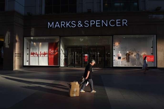 Un magasin Marks & Spencer à Pékin, en Chine.