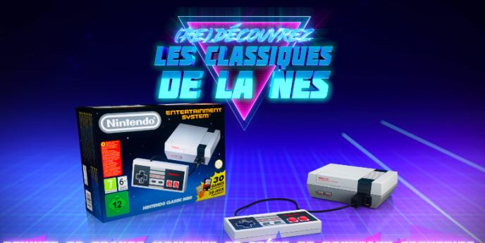 Capture d'écran de la bande-annonce officielle de la Nintendo Mini Classic.