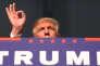 Republican presidential nominee Donald Trump attends a campaign event in Grand Rapids, Michigan, U.S. November 8, 2016. REUTERS/Carlo Allegri