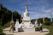 Temple bouddhiste tibétain de Lérab Ling, centre de retraite Rigpa. à Roqueredonde (Hérault).