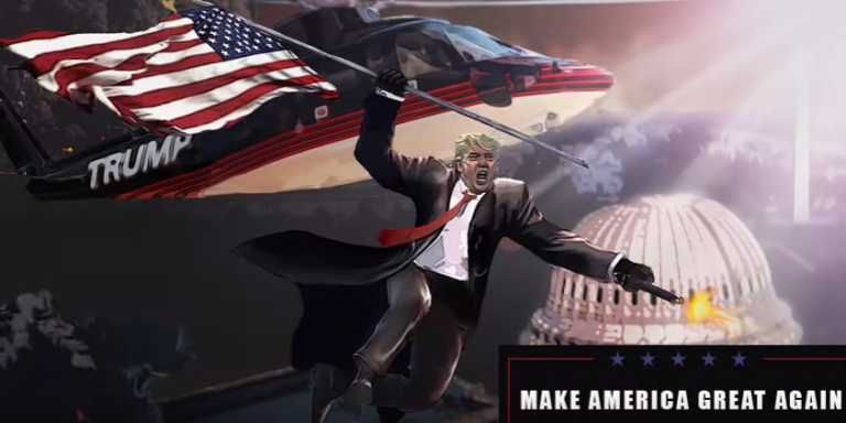 «Make America great again : the Trump Presidency. »