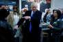 Donald Trump à New York, le 8 novembre.