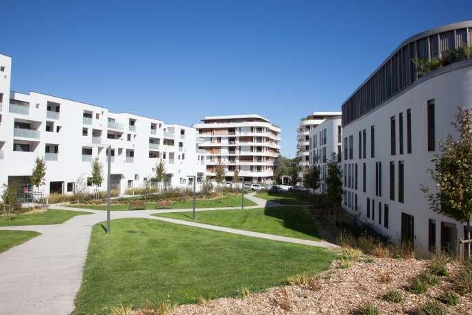 Trois cents habitations ont déjà été construites dans le quartier Kléber àBiarritz.