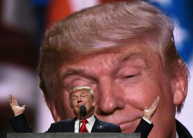 Donald Trump, le 21 juillet à Cleveland, Ohio.
