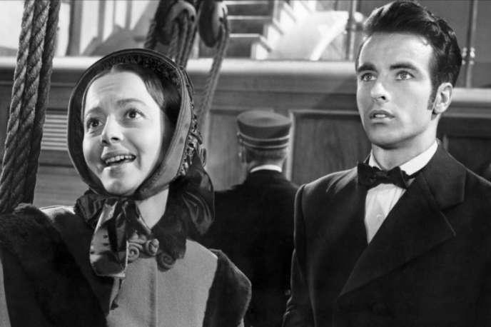 Olivia de Havilland et Montgomery Clift dans le film américain deWilliam Wyler,«L'Héritière» («The Heiress», 1948).