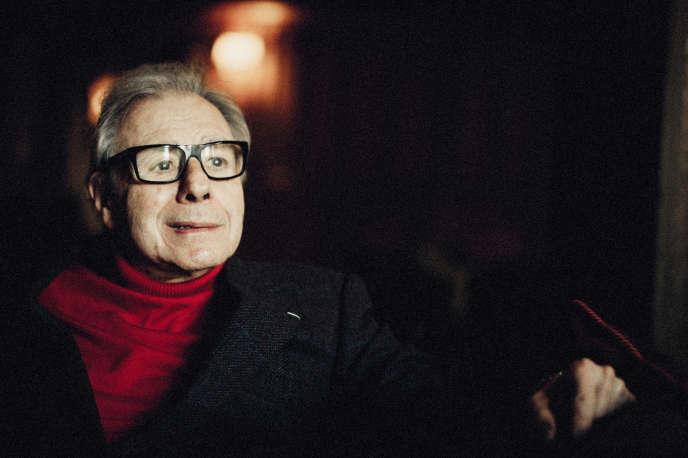 Lalo Schifrin, compositeur, à Paris, le 8 novembre 2016.