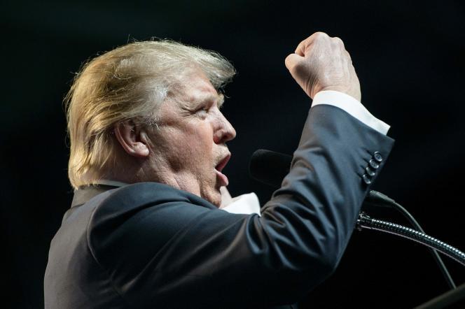 Donald Trump en campagne, à Charleston (Virginie occidentale), le 5 mai.