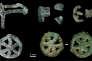 Ces objets ont été découverts en 1985 dans une tombe du Mehrgarh. Par photoluminescence, le laboratoire Ipanema a reconstitué le scénario de leur fabrication.