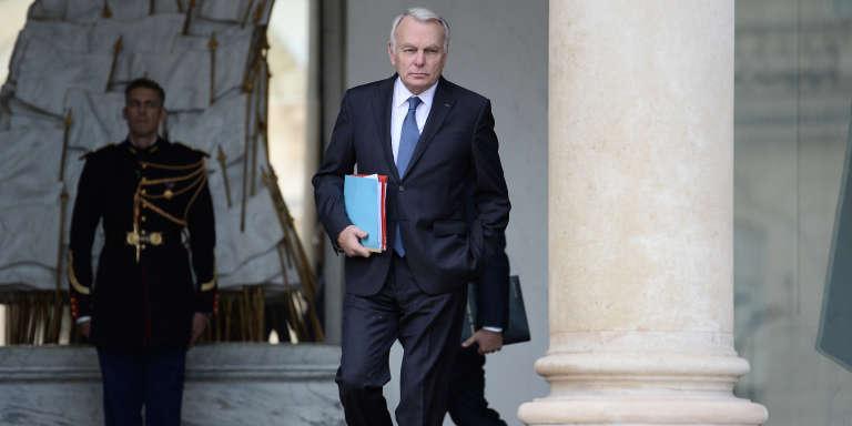 Jean-Marc Ayrault, ministre des affaires étrangères à l'Elysée le 2 novembre 2016.