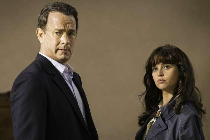 Tom Hanks etFelicity Jones dans le film américain de Ron Howard,« Inferno».