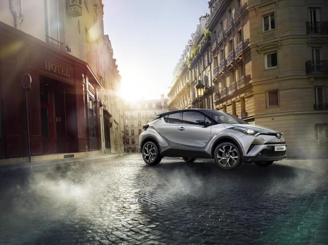 Le C-HR de Toyota.