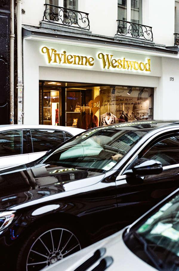 Vivienne Westwood s'est installée depuis peu au 175.