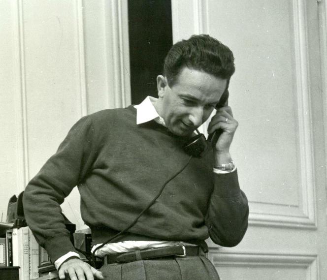 Le critique et historien de cinéma Pierre Billard.