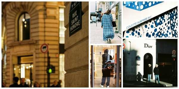 À cheval entrele 8e et le 1er arrondissement de Paris, la rue Saint-Honoré décloisonne la mode, mêlant prêt-à-porter,créateurs et luxe.