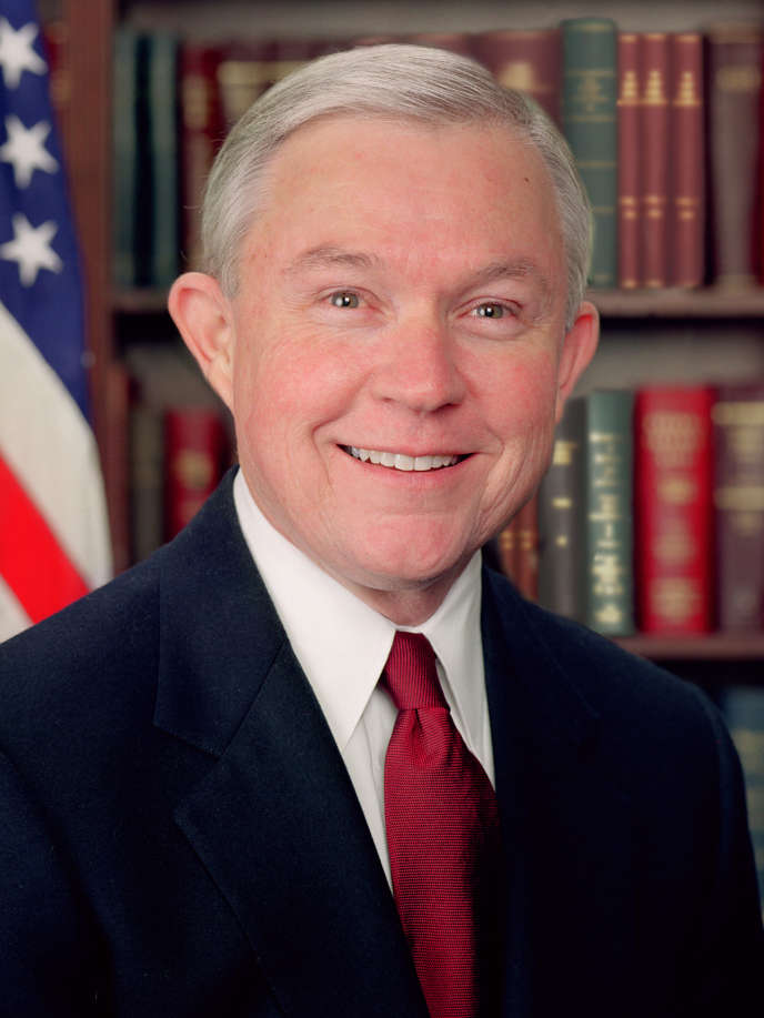 Jeff Sessions sera le prochain ministre de la justice des Etats-Unis.