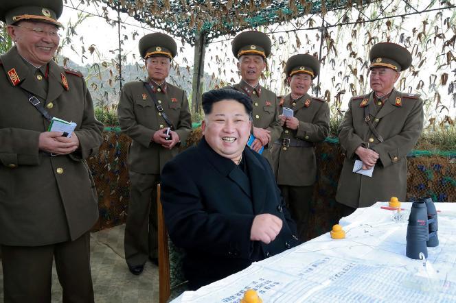 Le dirigeant de la Corée du Nord, Kim Jong-Un, le 11 novembre.