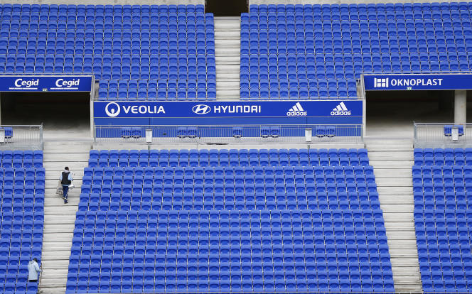 Le Parc Olympique lyonnais, à Décines, près de Lyon.