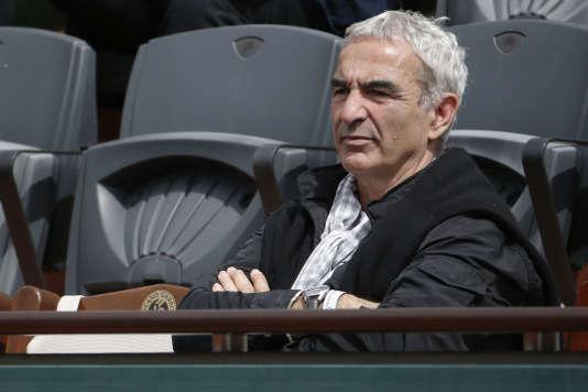 Raymond Domenech est aujourd'hui le président de l'Unecatef, le syndicat des entraîneurs de football. AFP PHOTO / KENZO TRIBOUILLARD