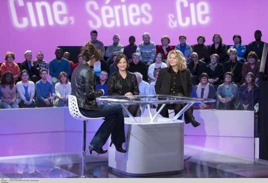 Sophie Soulignac reçoit Nicole Garcia sur le plateau de «Ciné, Séries & Cie».