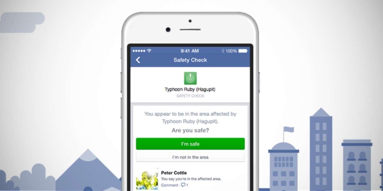 Facebook a officiellement annoncé le lancement du «safety check» en octobre 2014.