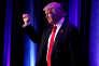 «Trump est de toute évidence le « pire », pour le tournant droitier qu'il nous réserve et la décomposition de la moralité publique qu'il engage. Mais au moins promet-il un changement»(Photo: Donald Trump, le 9 novembre à l'hôtel Hilton de New York).