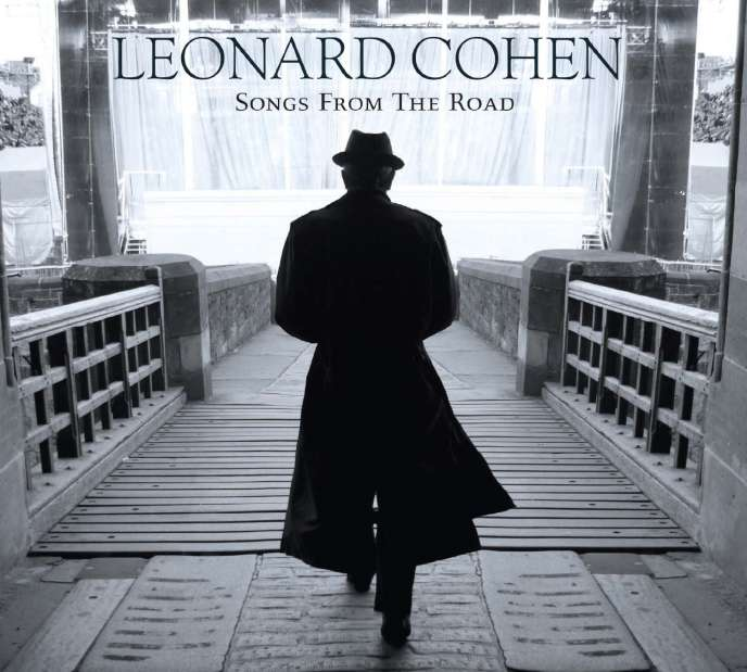 Pochette de l'album live « Songs From the Road » (2010), de Leonard Cohen, réalisée à partir d'une photo de Dominique Issermann.