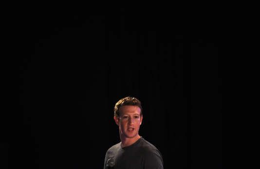 Mark Zuckerberg, à New Delhi, le 28octobre2015.