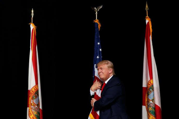 Donald Trump en Floride le 24 octobre.