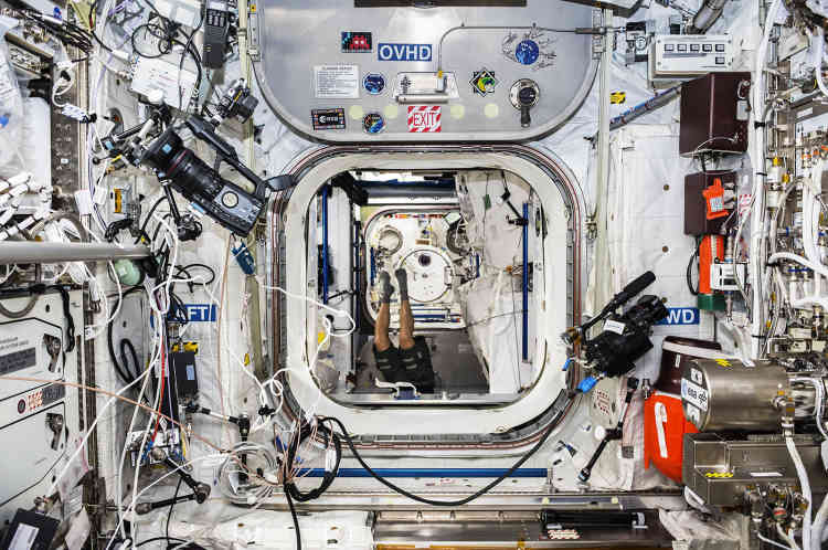 SPACE2, Station spatiale internationale, 2015.