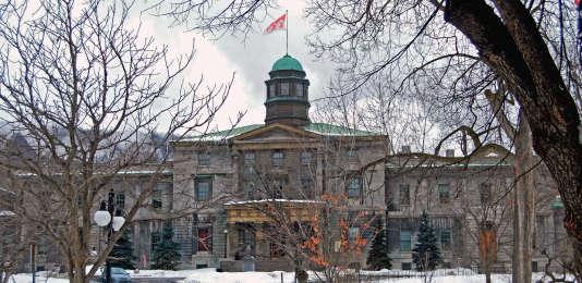 Le campus de l'université McGuill, à Montréal,qui abrite la Desautels Faculty of Management.