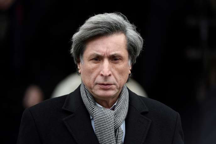 L'ex-patron de France Télévisions, Patrick de Carolis, à Paris, le 6 janvier 2015.