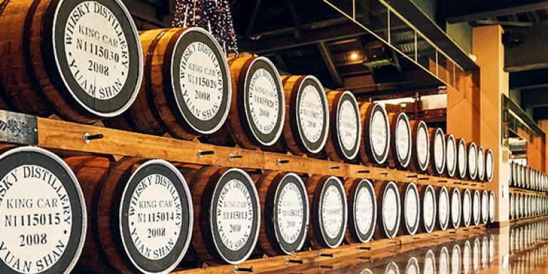 Distillerie Kavalan à Taïwan, visiter center