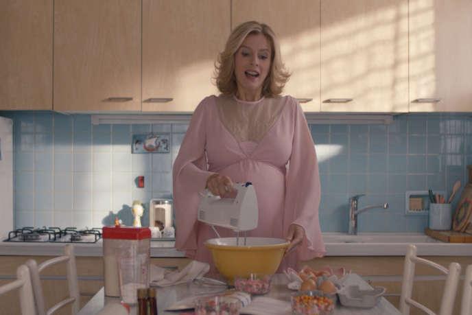Karine Viard dans le film français de Nadège Loiseau,« Le Petit Locataire».