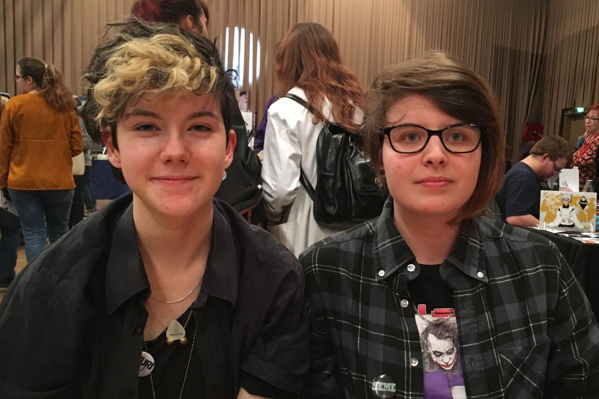 Zoe Chanson et Lucie Rabelle sont deux lectrices de« yaoi».